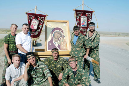 Табынская икона пробудет в оренбургской области до конца 201.
