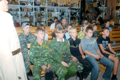 казачата из Агаповского района Челябинской области Верхнеуральский отдел ОВКО