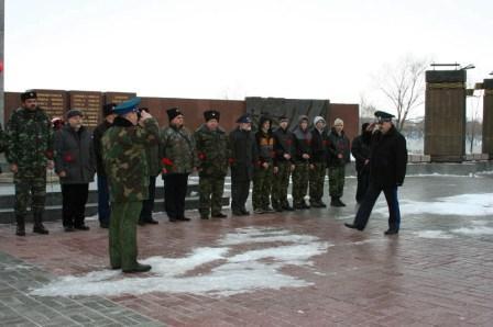 патриотическая акция казаков Оренбургского окружного казачьего общества и Всевеликого Войска Донского
