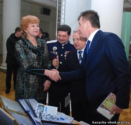 казачий сход Всевеликого войска Донского Волгоградской области губернатор Сергей Анатольевич Боженов