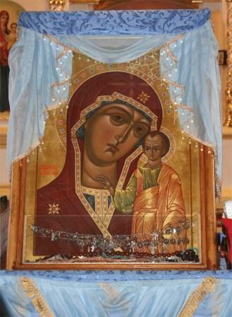 График проведения Крестного хода с Табынской иконой Божией Матери