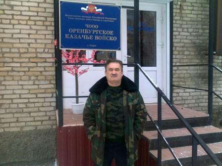начальник штаба ООКО войсковой старшина Покровский Александр Викторович