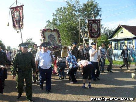 в день явления Святой иконы Табынской Божьей Матери, из Красноусольска вышел очередной Крестный ход
