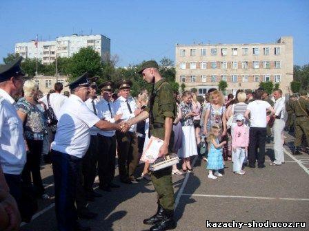 заместитель атамана Оренбургского окружного казачьего общества