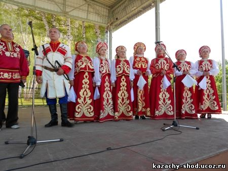Казачий коллектив Россы города Бугуруслана